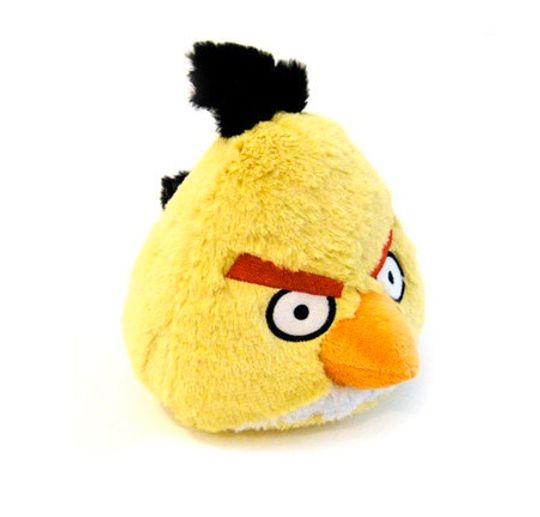 Игрушка Angry Birds 7 см Желтая птичка