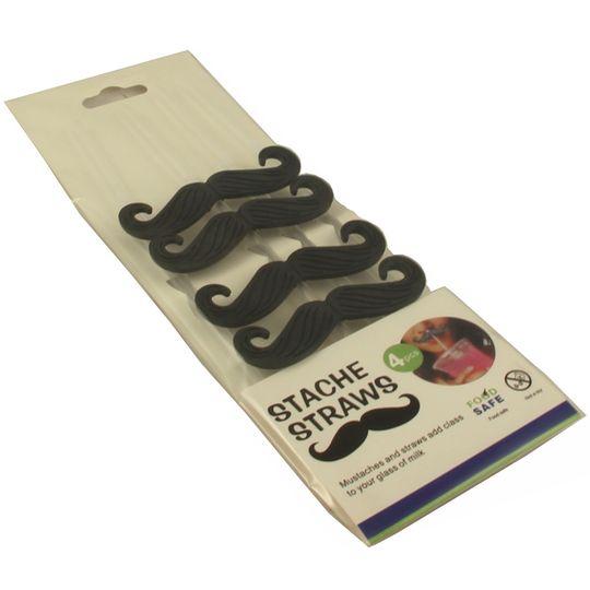 Трубочки для коктейля Усы Mustache Упаковка