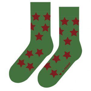Носки Звездец зеленый