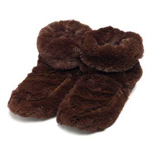 Сапожки-грелки (темно-коричневые)