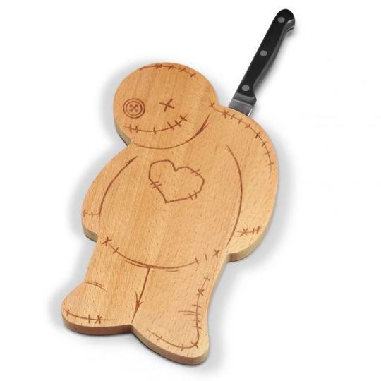 Разделочная доска и нож Вуду Ouch!