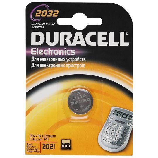Батарейка Duracell CR2032