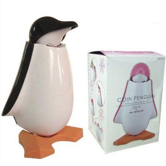 Копилка Пингвин (Черный) С упаковкой