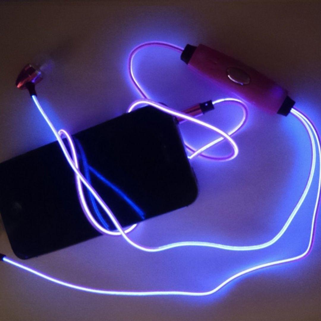 Светящиеся наушники Glowing Earphone