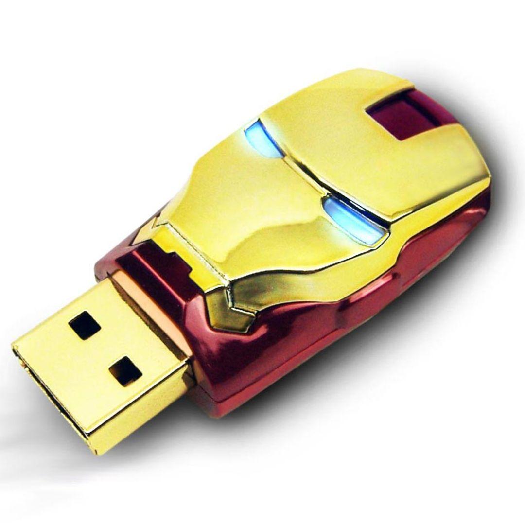 Флешка Железный человек Iron Man 8 Гб