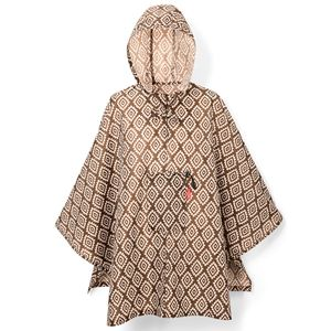 Дождевик Mini Maxi Poncho Diamonds Mocha
