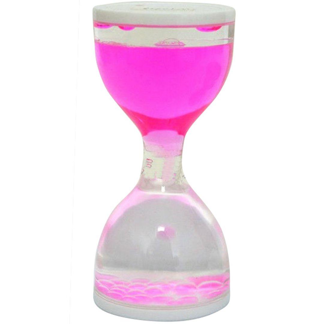 Водяные часы — розовые