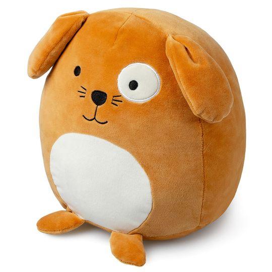 Подушка диванная Собачка Woof! (Коричневый)