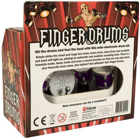 Барабанная установка для пальцев Finger Drums Mini Rock
