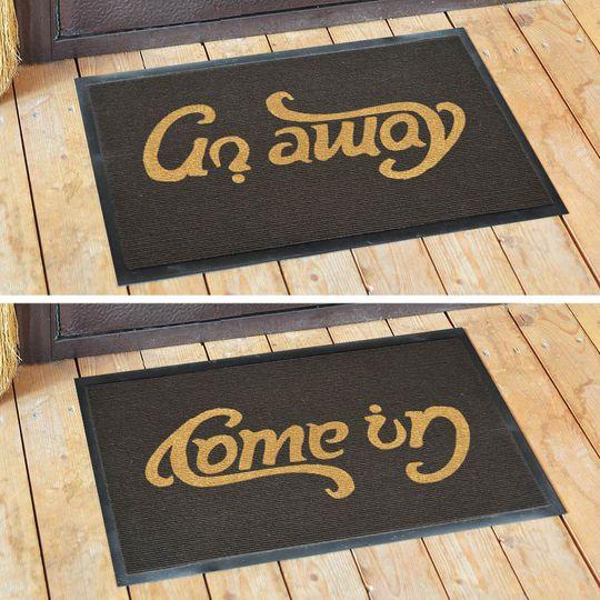 Коврик для входной двери Come in - Go away
