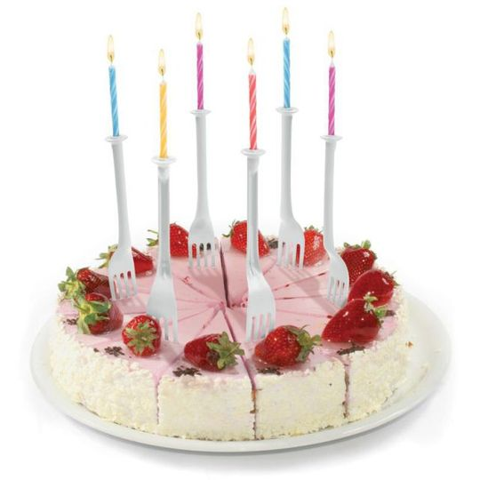 Подсвечники и свечи для торта Light Bites