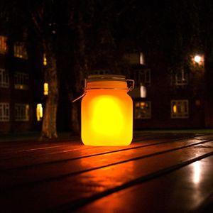 Светящаяся банка на солнечной батарее Sun Jar