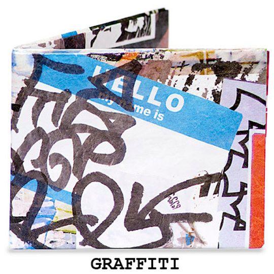 Бумажный Бумажник Mighty Wallet Graffiti