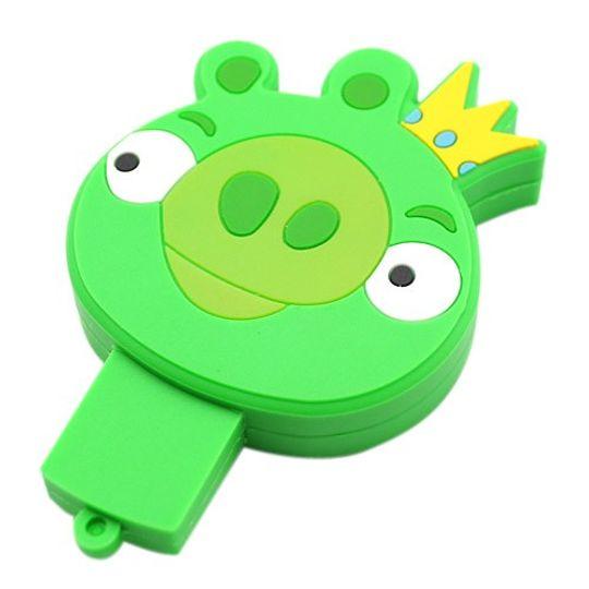 Флешка Angry Birds Свинка c короной 4 Гб