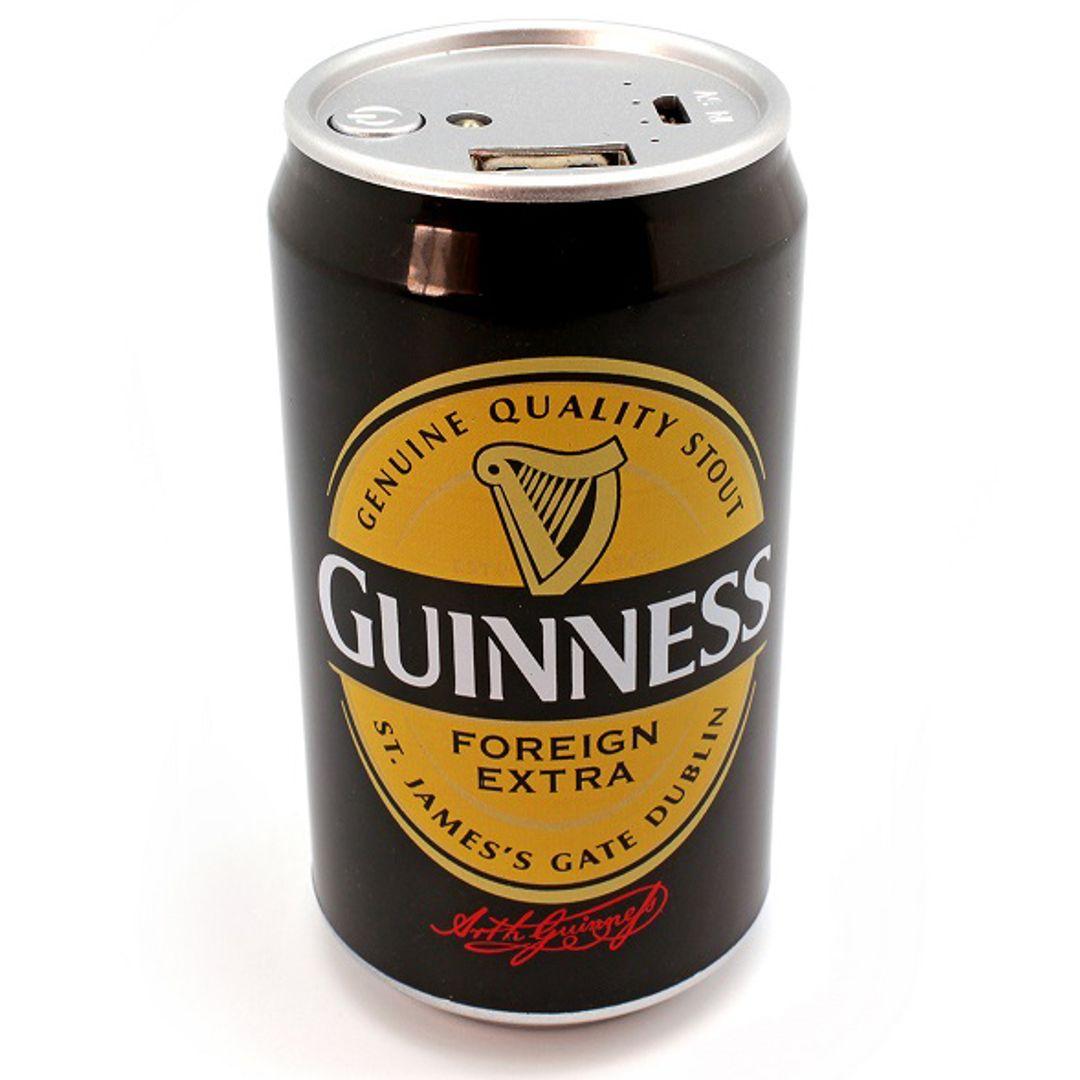 Внешний аккумулятор Power Bank Банка Guinness