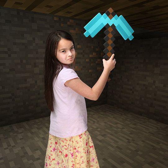 Алмазная кирка Minecraft
