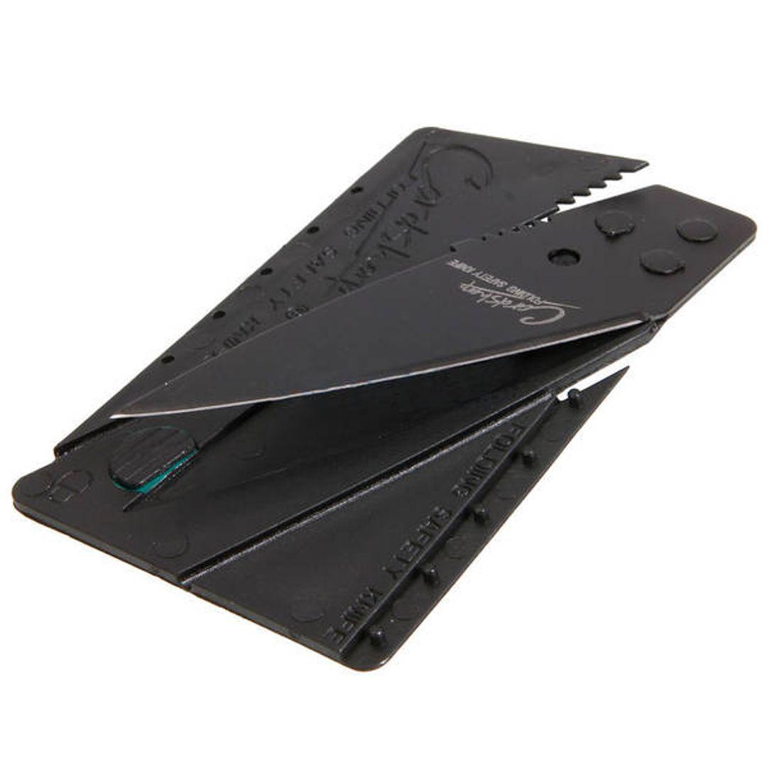 Нож Кредитка CardSharp Положение лезвия в сложенном виде