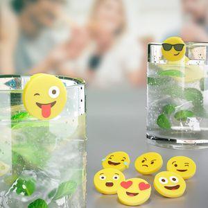 Маркеры для стаканов Emoji (8 шт.)