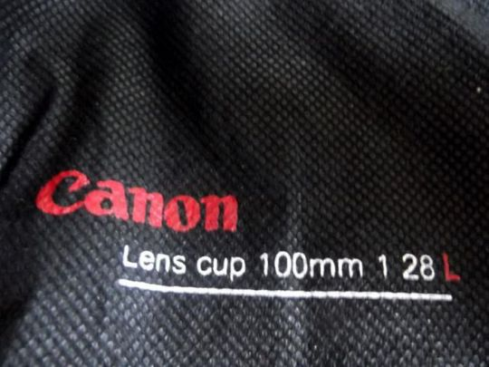 Кружка Объектив Canon EF 100 mm Чехол