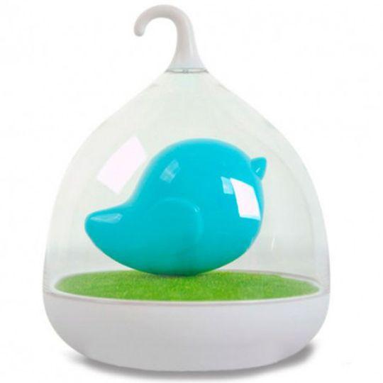 USB Лампа Птичка (Голубая)