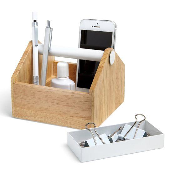 Органайзер для аксессуаров Toto Storage Box малый С канцелярией, ящик вынут
