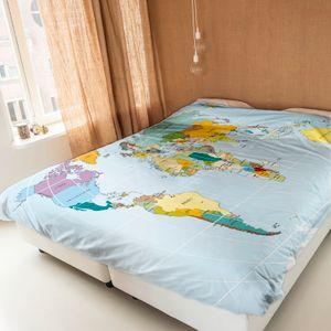 Комплект постельного белья Newtone Карта мира