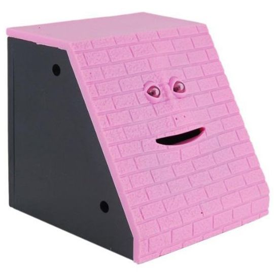 Жующая копилка Face Bank (Розовый кирпич)