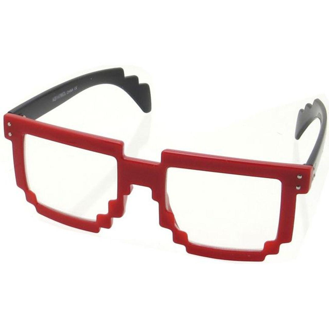 8-битные очки (Красные)