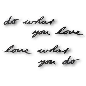 Надпись на стену Do what you love