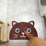 Коврик для входной двери Lucky Cat