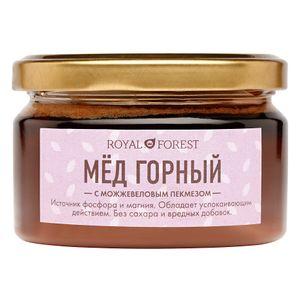 Мёд горный с можжевеловым пекмезом (250 г)