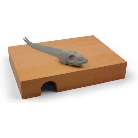 Доска и нож Мышка в домике Nibbled