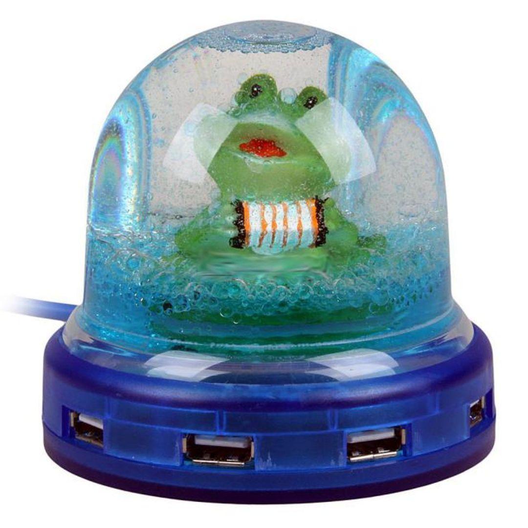 USB Хаб С лягушкой