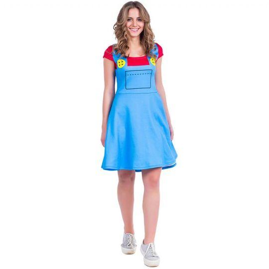 Платье Super Mario (Фонарик)