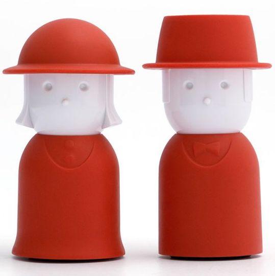Солонка и перечница Mrs. Salt & Mr. Pepper (Красный)