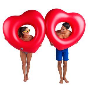 Набор кругов для бассейна Two Hearts is Better than One