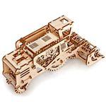 Механический 3D Пазл Ugears Комбайн Открывающийся ящик сверху