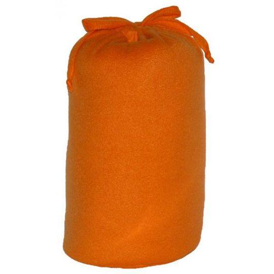 Плед с рукавами Оранжевый