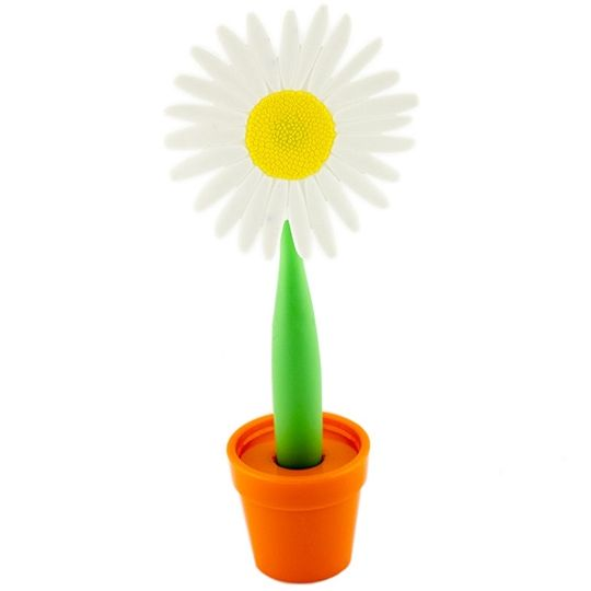 Ручка Цветок Астра (Белый)
