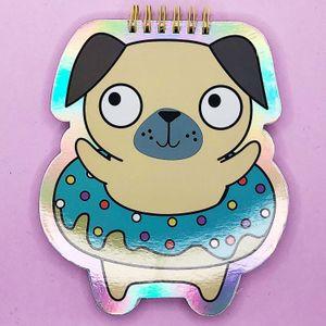 Блокнот Donut Pug