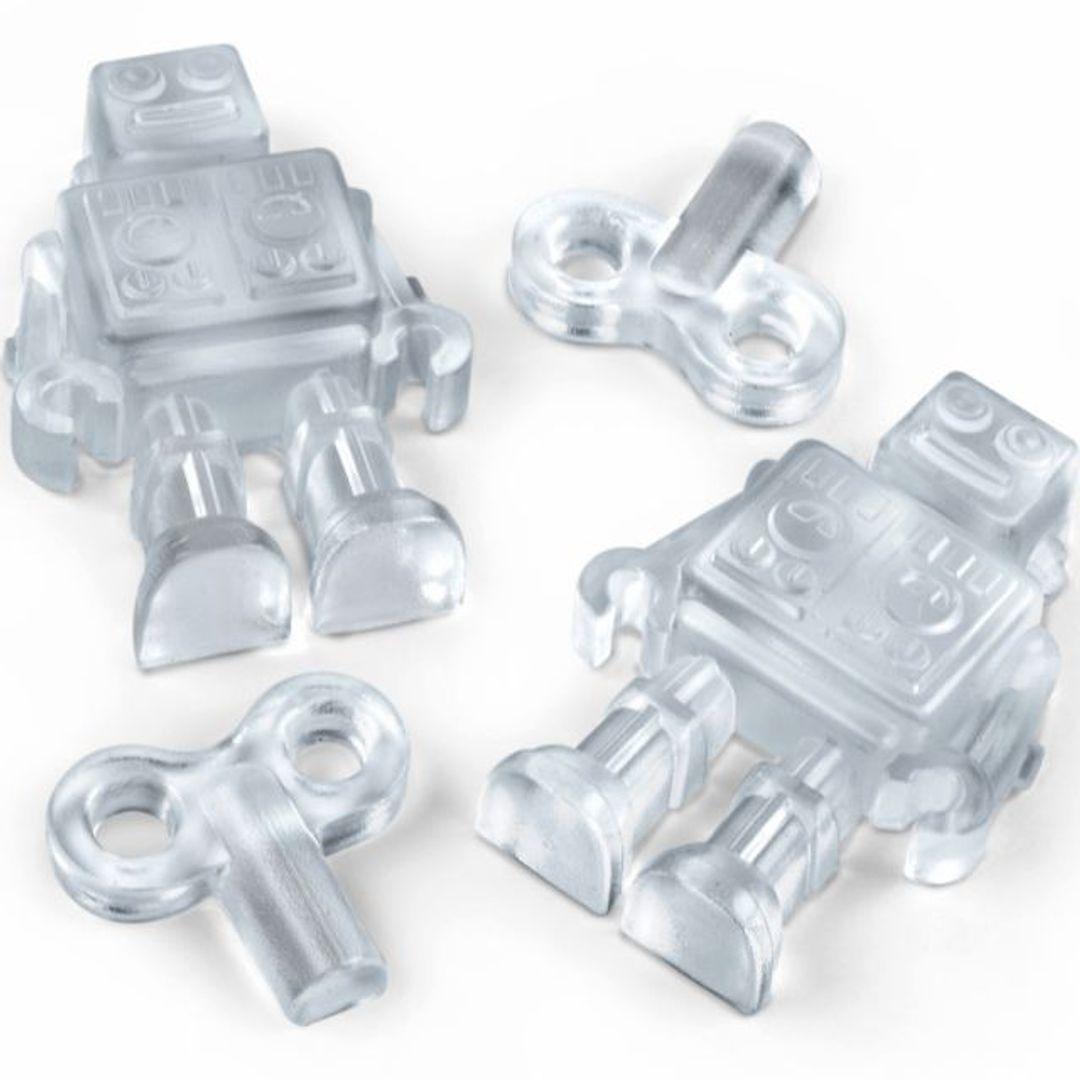 Форма для льда Робот Chill Bots Лед из формы