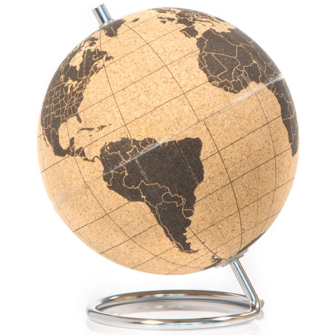 SUCK UK Пробковый мини-глобус Mini Cork Globe