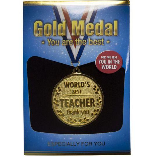 Медаль Лучшему Учителю World's Best Teacher