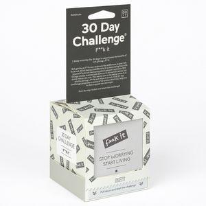 Челлендж 30 дней F**k It