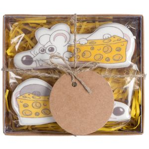 Имбирное печенье Мышата Cheesy Treat (2 шт)