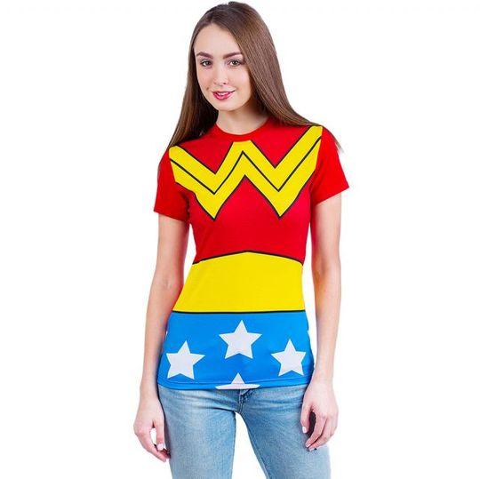 Футболка Wonder Woman (женская)