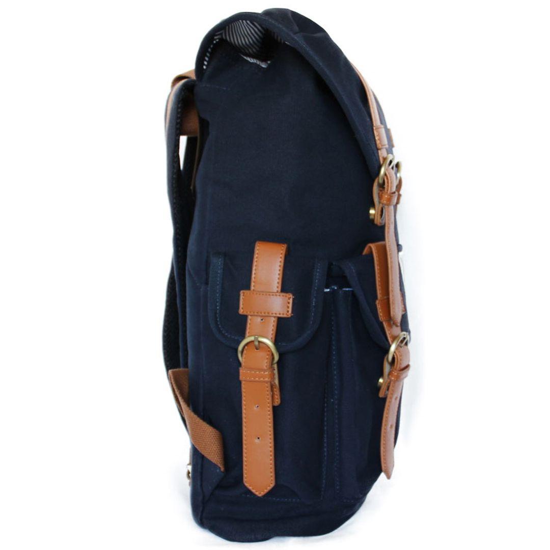 Рюкзак Yellow Stone Kenya (Темно-синий) Сбоку