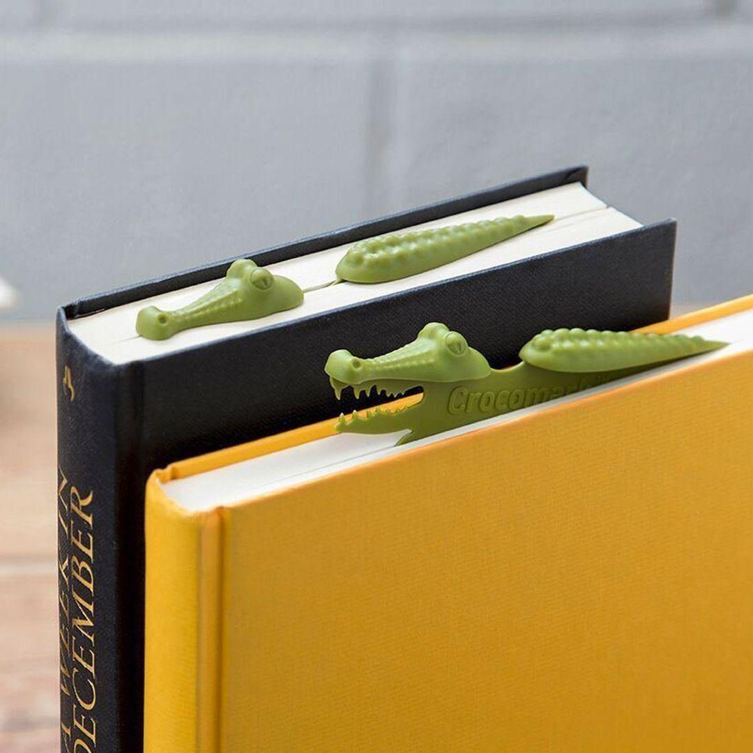 Закладка для книги Крокодил Crocomark