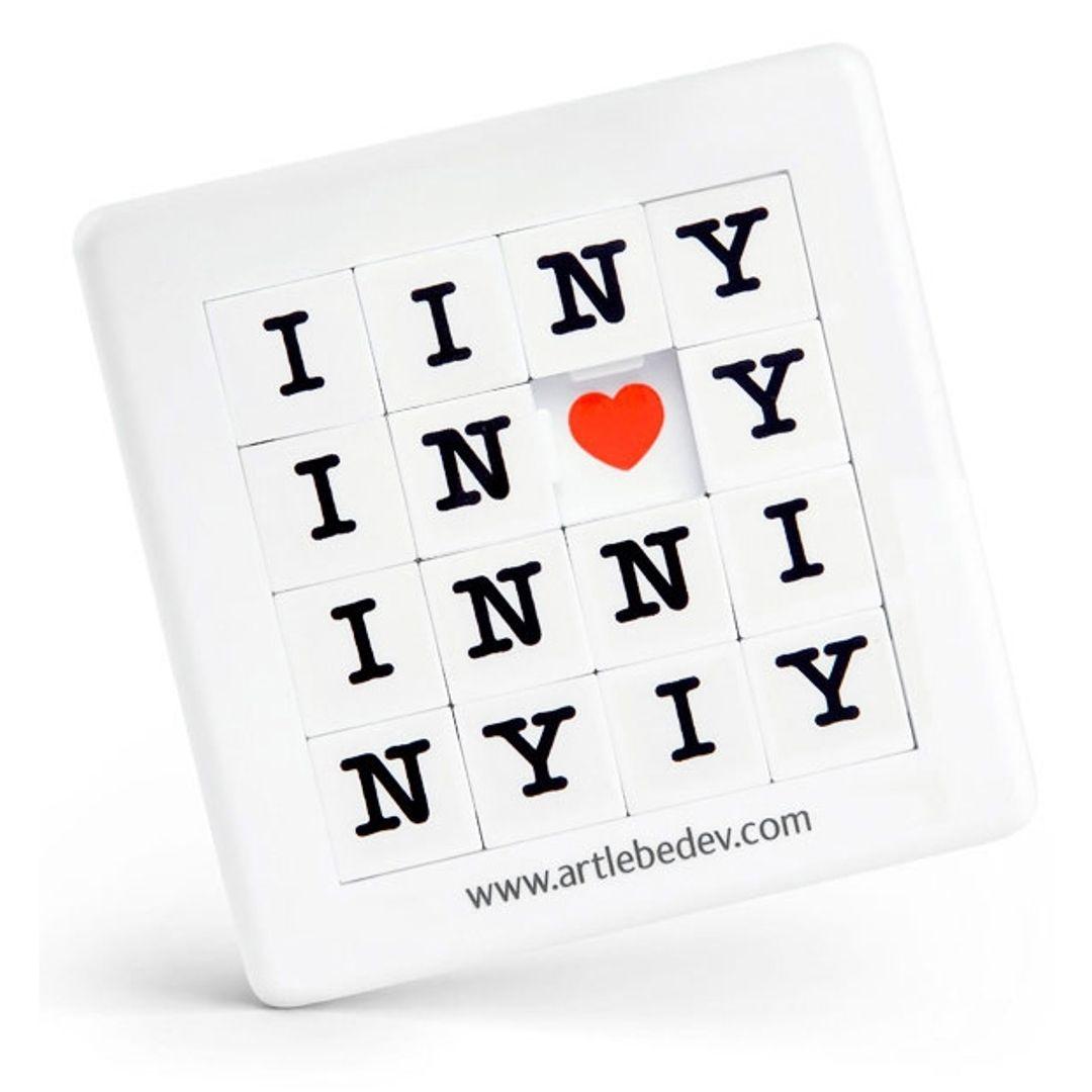 Пятнашка I love NY