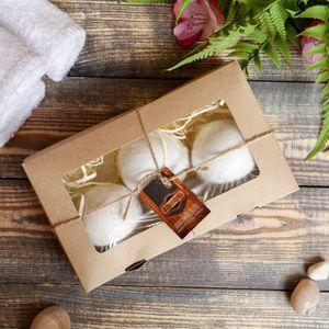 Набор бурлящих шаров (ваниль, мята, сосна)